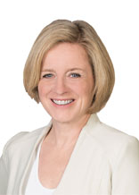 New face of the NDP, Rachel Notley.